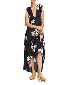 Free People - She's A Waterfall Floral-Print Maxi