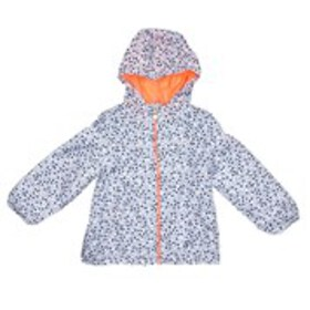 OSHKOSH Toddler Girls Print Hooded Anorak Jacket (