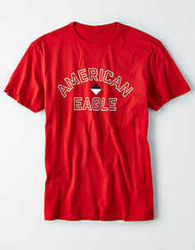 American Eagle AE Short Sleeve Graphic T-Shirt