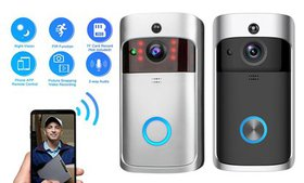 Wireless Video Doorbell HD WiFi Camera Home Securi