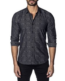 Jared Lang Men's Semi-Fitted Abstract Print Sport