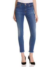 7 For All Mankind - Skinny Ankle Jeans in Reign