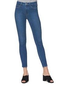PAIGE - Hoxton Skinny Jeans in Bambi