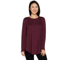 AnyBody Cozy Knit Swing Top - A293070