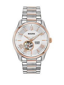 Bulova Wilton Automatic Two-Tone Stainless Steel B