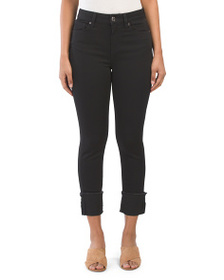 SEVEN7 Cuffed Cropped Jeans