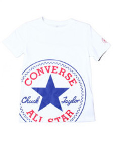 Converse oversized patched s/s tee (8-20)