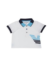 Armani - Boys' Graphic-Logo Polo Shirt - Baby