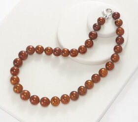 """Honora Sterling Silver Ming Cultured Pearl 18"""" Nec"""