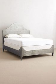 Anthropologie Hand-Embossed Bed