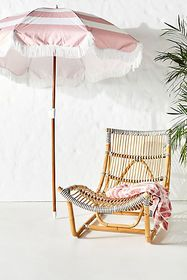 Anthropologie Canyon Indoor/Outdoor Lounge Chair