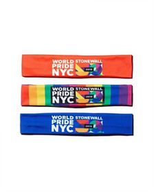 Echo - World Pride NYC Headband, Set of 3