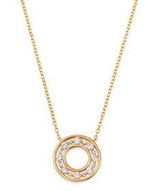 Bloomingdale's - Diamond Circle Pendant Necklace i