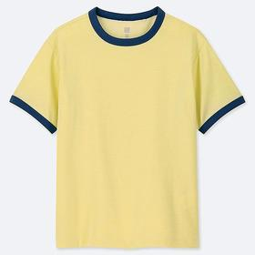 KIDS DRY-EX CREW NECK SHORT-SLEEVE T-SHIRT