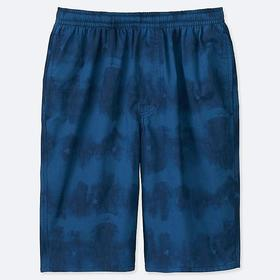 MEN MICKEY BLUE LIGHT COTTON EASY SHORTS
