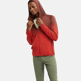 MEN DRY-EX LONG-SLEEVE FULL-ZIP HOODIE