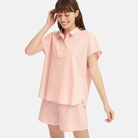 WOMEN SOFT STRETCH SHORT-SLEEVE PAJAMAS