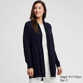 WOMEN UV CUT STOLE LONG-SLEEVE LONG CARDIGAN
