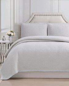 Charisma Garment-Washed Queen Coverlet