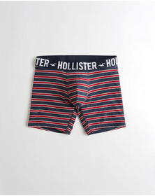 Hollister Longer-Length Trunk, NAVY STRIPE