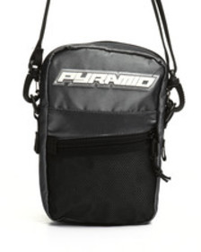 Black Pyramid small tech shoulder bag (unisex)