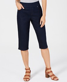 Style & Co Pull-On Skimmer Shorts, Created for Mac