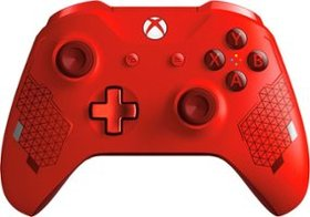 Microsoft - Sport Red Special Edition Wireless Con