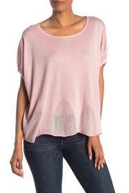 In Cashmere Cocoon Silk Blend Top