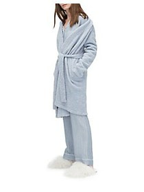 Ugg Ana Plush Robe ICE BLUE