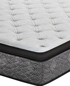"MacyBed by Serta Resort 13"" Plush Euro Pillow Top"