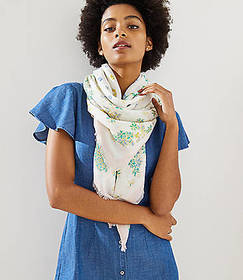 Love Floral Scarf