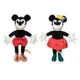 Disney Mickey and Minnie Mouse Collectible Plush D