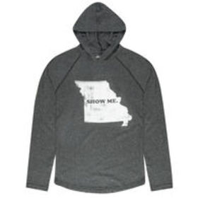 Local Yokel Men's Missouri Long-Sleeve Hooded Tee
