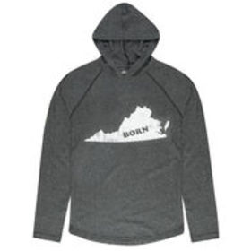 Local Yokel Men's Virginia Long-Sleeve Hooded Tee