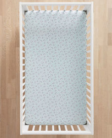Hanna Andersson Knit Crib Sheet In Organic Cotton