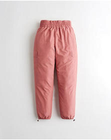 Hollister Ultra High-Rise Wind Pants, PINK