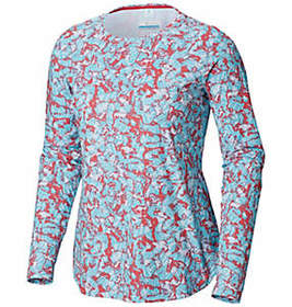 Columbia Women's Printed PFG Zero™ Long Sleeve