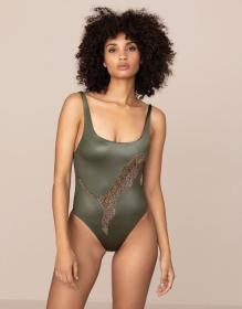 Indiana Swimsuit Khaki