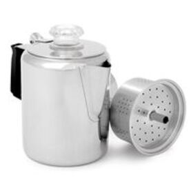 GSI Outdoors Glacier 9-Cup Stainless Steel Percola