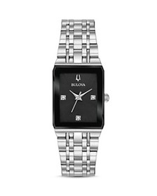 Bulova - Futuro Quadra Link Bracelet Watch, 20mm x