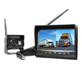 Rear View Safety Wireless Backup Camera & Dual Scr