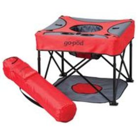 GoPod Portable Activity Seat, Cardinal