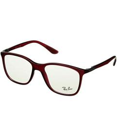 Ray-Ban Transparent Red