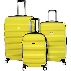 World Traveler Regis 3-Piece Hardside Expandable S
