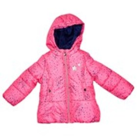 OSHKOSH Toddler Girls Star Print Puffer Coat with