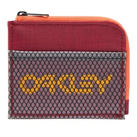 Oakley 90'S Zip Small Wallet - Sundried Tomato