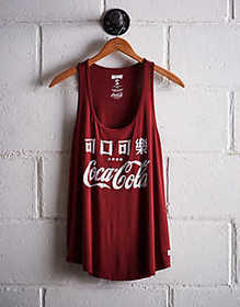 American Eagle Tailgate Women's Coca-Cola Scoop Ne