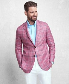 Brooks Brothers Golden Fleece® Rose Plaid Sport Co