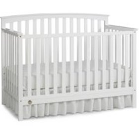 Fisher-Price Jesse 4-in-1 Convertible Crib, Snow W