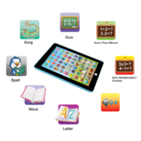 DZT1968 Kids Computer Tablet Chinese English Learn